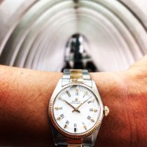 Rolex Oyster Perpetual 31 Or/Acier 31mm Blanc Romain