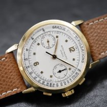Patek Philippe Chronograph Yellow gold 36mm Champagne