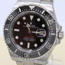 Rolex Sea-Dweller Stal 43mm Czarny