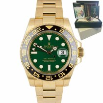 Rolex GMT-Master II Yellow gold 40mm Green United States of America, New York, Massapequa Park