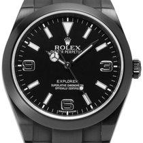 Rolex Explorer 214270 DLC 2011 gebraucht