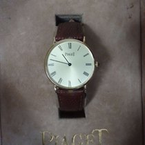 Piaget 30mm Handopwind 1980 tweedehands Goud