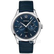Montblanc Heritage Chronométrie Steel Blue Arabic numerals United States of America, New York, Cedarhurst