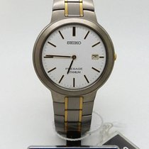 Seiko new Quartz 36mm Titanium Mineral Glass