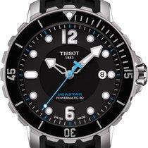 Tissot Seastar 1000 Zeljezo 42mm Crn Arapski brojevi