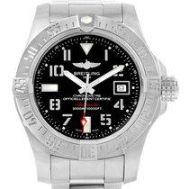 Breitling Aeromarine Avenger Ii Seawolf Black Dial Mens Watch...