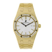 Audemars Piguet Royal Oak Quartz 33mm Yellow Gold Diamond...