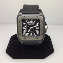 Cartier Santos 100 Titanium & Stainless Steel Automatic Men's...