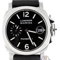Panerai PAM 48 40mm Luminor Marina Date Stainless Automatic Watch