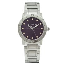 Bulgari 33mm Automatic new Bulgari Purple