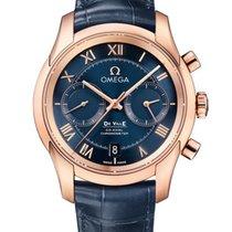 Omega 431.53.42.51.03.001 Oro rosa 2020 De Ville Co-Axial 41.5mm nuevo