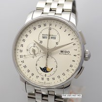 Mido Steel 42mm Automatic M8607 new