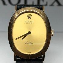 Rolex Cellini Yellow gold 27.5mm Gold No numerals
