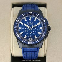 Zenith El Primero Stratos Flyback 45.5mm Blue United States of America, New York, Airmont