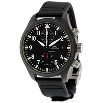 IWC Fliegeruhr Chronograph Top Gun neu 44mm Keramik
