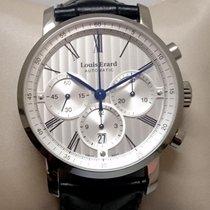 Louis Erard 42mm Automatik neu Excellence Silber