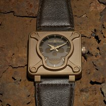 Bell & Ross Bronze Automatic Black Arabic numerals 46mm new BR 01-92