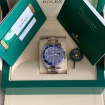 Rolex Submariner Date White gold 40mm Blue No numerals UAE, milano