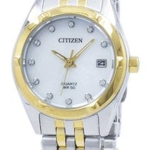 Citizen Steel 26mm Quartz EU6054-58D new