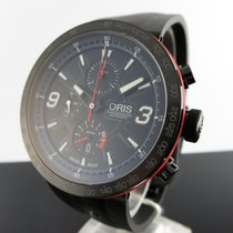 Oris TT1 Acier 45mm Noir Arabes