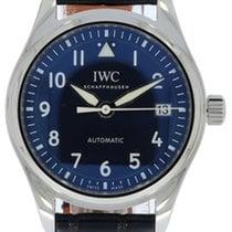 IWC Pilot's Watch Automatic 36 Сталь 36mm Синий