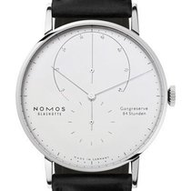 NOMOS White gold 42mm Manual winding 931 new
