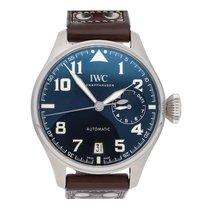 IWC Big Pilot Steel 46mm Blue Arabic numerals United States of America, Pennsylvania, Bala Cynwyd