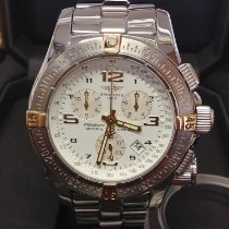 Breitling Emergency Steel 45mm White Arabic numerals