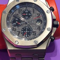 Audemars Piguet Titanium Automatic 42mm pre-owned Royal Oak Offshore Chronograph