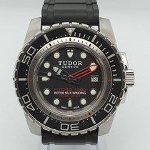Tudor Hydronaut Steel 45mm Black No numerals