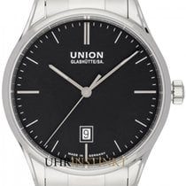 Union Glashütte Viro Date Steel 41mm Black