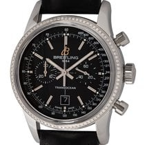 Breitling Transocean Chronograph 38 Steel 38mm Black United States of America, Texas, Austin