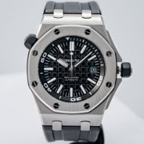Audemars Piguet Royal Oak Offshore Diver Steel 42mm Black No numerals United States of America, Massachusetts, Boston