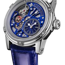 Louis Moinet Steel 44mm Automatic LM-50.10-20 new