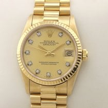 Rolex Datejust 68278 Diamond Diamant Automatik 1984 pre-owned