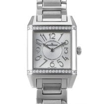 Jaeger-LeCoultre Reverso Squadra Ladies Diamond Quartz Watch...