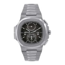 Patek Philippe Nautilus Travel Time Chronograph Stainless...