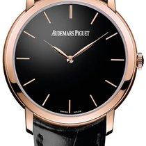 Audemars Piguet Jules Audemars Oro rosado 41mm Negro