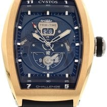 Cvstos CHALLENGE TWIN-TIME RED GOLD CTT RGR