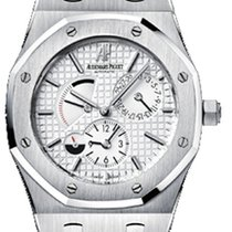 Audemars Piguet 26120ST.OO.1220ST.01 Steel Royal Oak Dual Time 39mm pre-owned