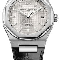 Girard Perregaux Laureato Steel 38mm Silver United States of America, New York, Airmont