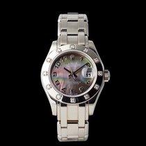 Rolex 80319 Weißgold 2001 Lady-Datejust Pearlmaster 29mm gebraucht