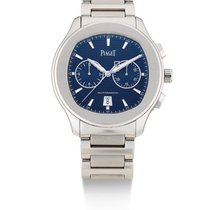 Piaget | A Stainless Steel Automatic Chronograph Wristwatch...