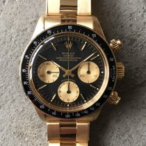 Rolex Daytona Yellow Gold black dial