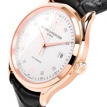 Baume & Mercier Clifton 10104 New Rose gold 39mm Automatic
