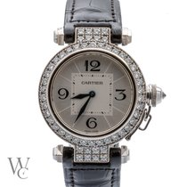 Cartier Pasha (Submodel) pre-owned 32mm White gold