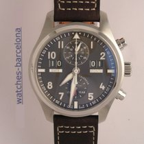 IWC - IWC Pilot's Watch Perpetual Calendar Digital Date-Month...