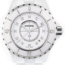 Chanel J12 Ceramic 33mm White No numerals United States of America, New York, New York