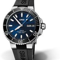 Oris Hammerhead Limited Edition 01 752 7733 4135-07 4 24 64EB ORIS DIVING AQUIS DATE Blu new