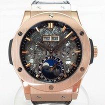 Hublot Classic Fusion Aerofusion Rose gold 42mm Transparent No numerals